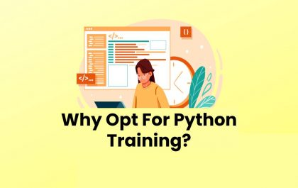 Why Opt For Python Training?